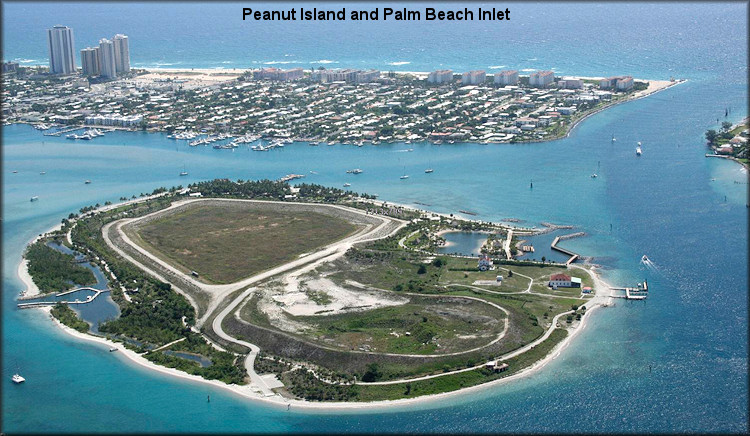 Peanut Island and Palm Beach Inlet