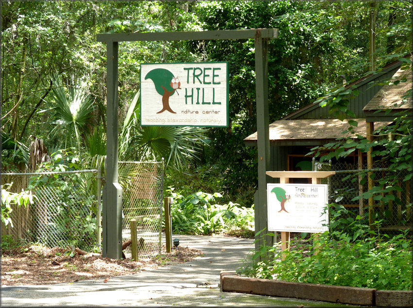 Tree Hill Nature Center Entrance 7/26/2014
