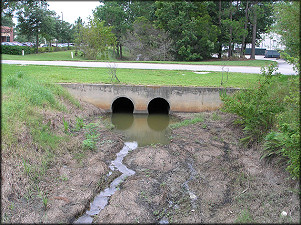Culvert And Drainage Ditch (30.22624N 081.58437W)