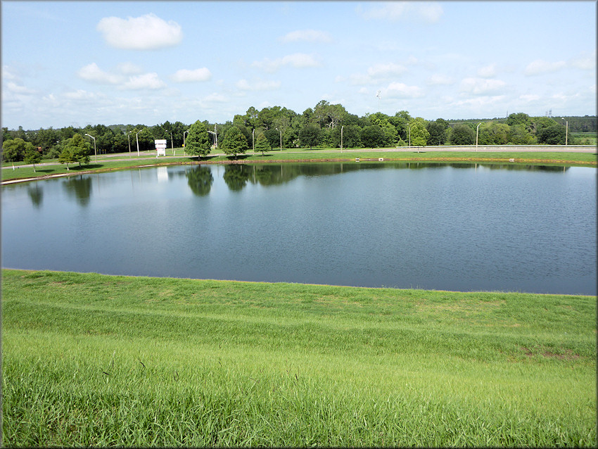 Pictured below is a view of the lake/borrow pit as viewed from the Winn-Dixie Parkway overpass